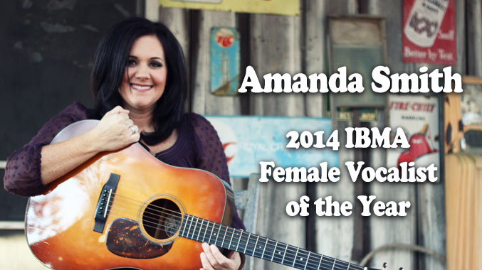 Amanda Smith 2014 IBMA Female Vocalist of the Year