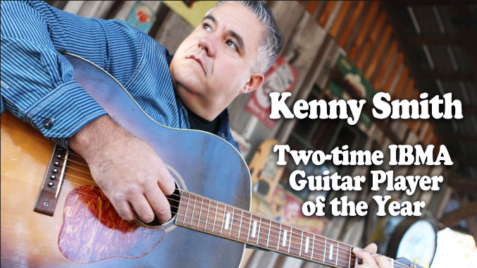 Kenny Smith Two-Time IBMA Guitar Player of the Year